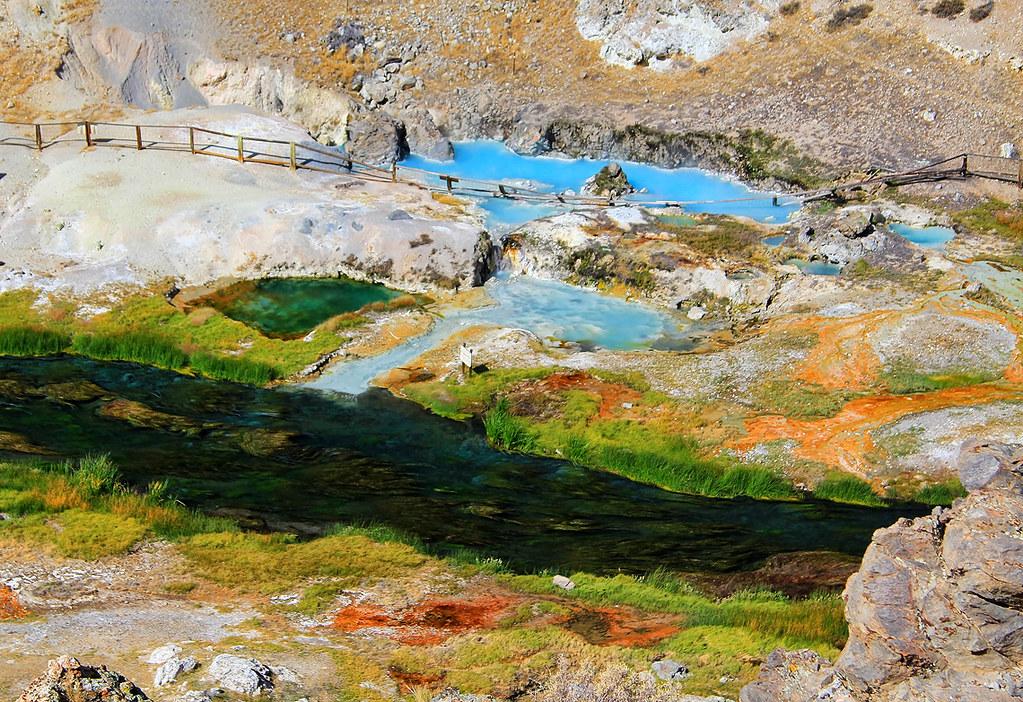Hot Creek Geothermal Pools