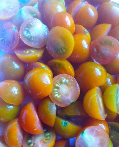 Cherry Tomatoes by randubnick