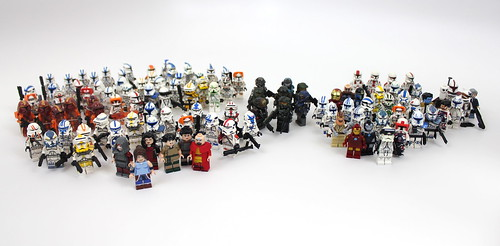 Personal Custom Minifigure Collection