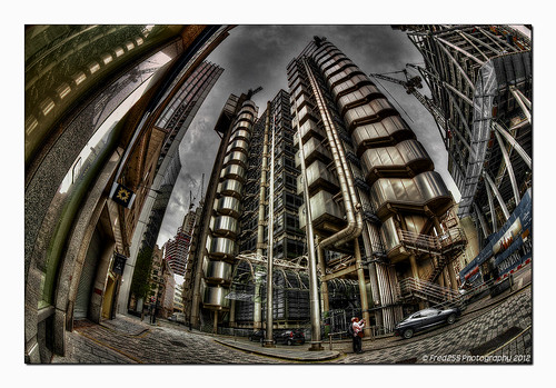 More of the Lloyd's Building