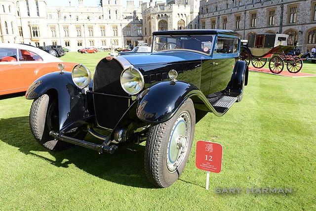 Bugatti Type 41 Royale Kellner Coupe 1931 Windsor Concours of Elegance