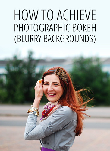 Phototips: How to Achieve Bokeh (Blurry Backgrounds)