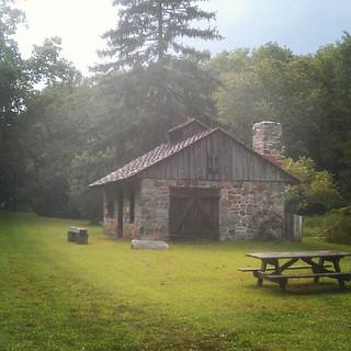Rustic little Newlin Mill Park in Glen Mills, Pa.