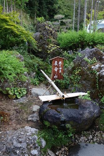 秩父の温泉でのヒトコマ