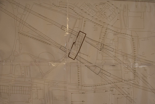 Stepney box plan and tunnels