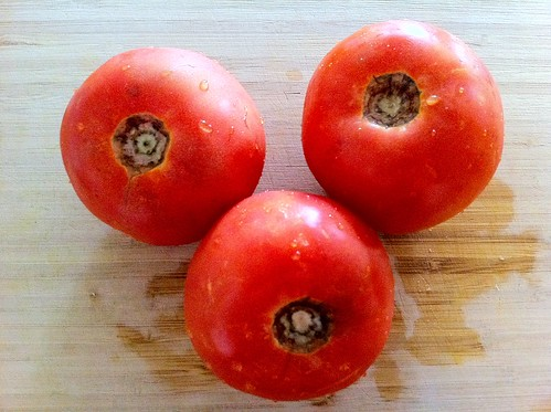 3 Large Ripe Tomatoes