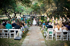 meal(0.0), backyard(0.0), party(0.0), rehearsal dinner(0.0), flower(1.0), wedding reception(1.0), event(1.0), wedding(1.0), aisle(1.0), ceremony(1.0),