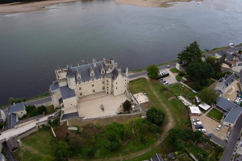 Château de Montsoreau vista aérea