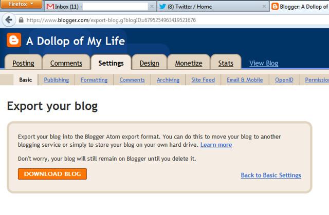 blogger_exportblog