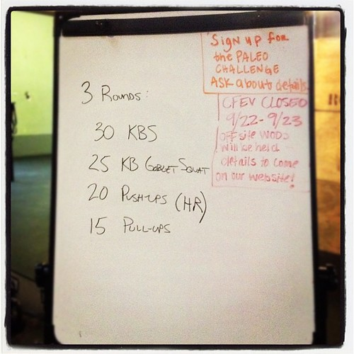 Early morning #wod fun. Now off to run a 5k!