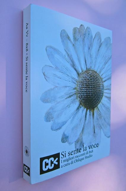 Si sente la voce. 8x8 / Oblique Studio. Carta Canta 2012. Dorso, copertina (part.), 1