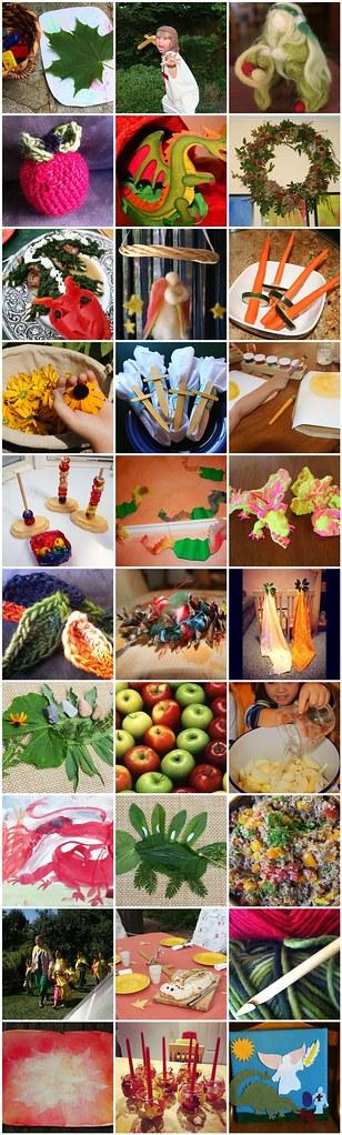 Taste of the Contents of Our Autumn Equinox & Michaelmas Festival E-Book