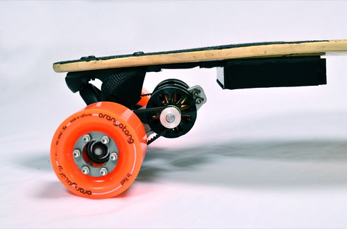 Boosted Boards drivetrain