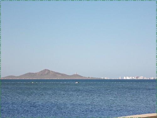 Isla del Barón, el Mar Menor
