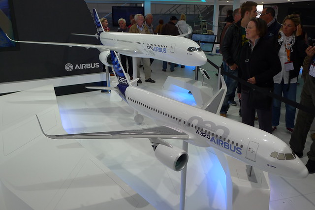 Airbus A350 und A320