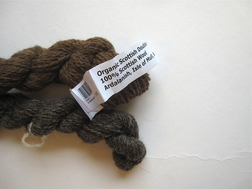 Organic Scottish Wool