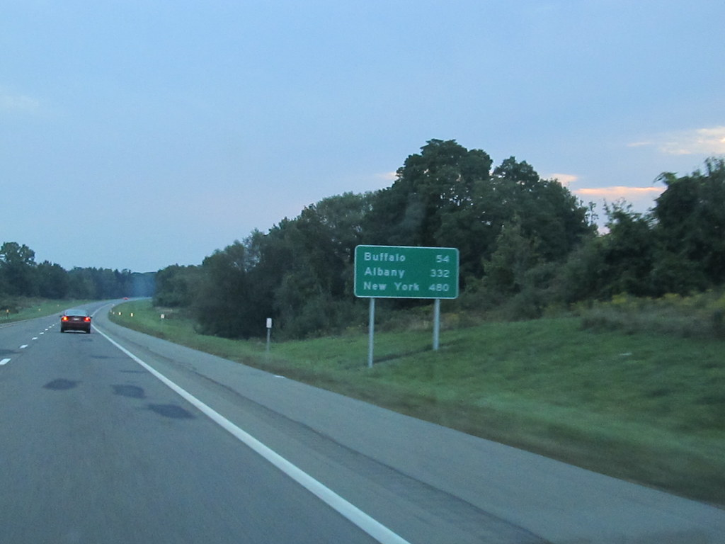 54 Miles To Buffalo New York I 90 Eastbound Interstate 9 Flickr