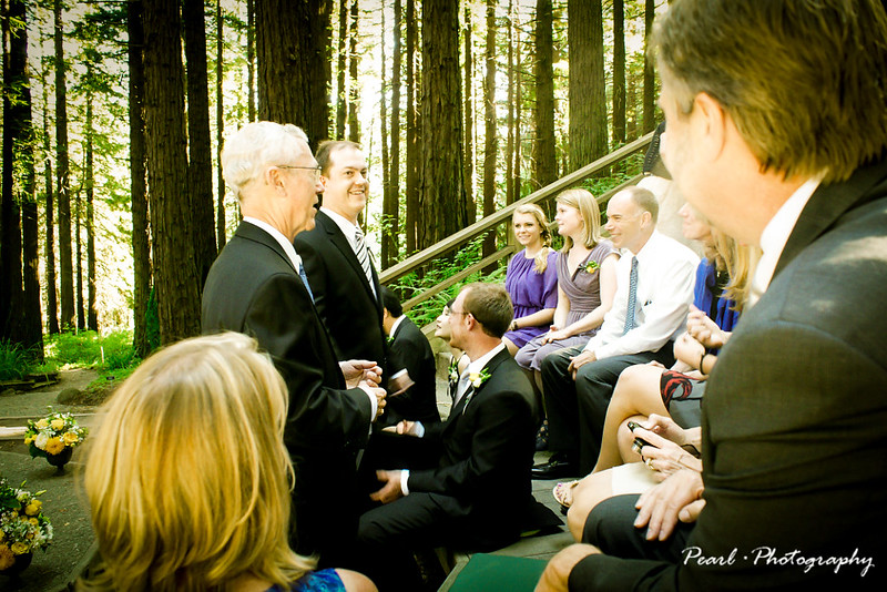 Andy & My's Forest Wedding