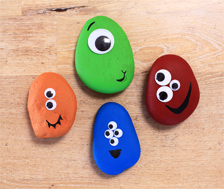 Monster Pet Rocks