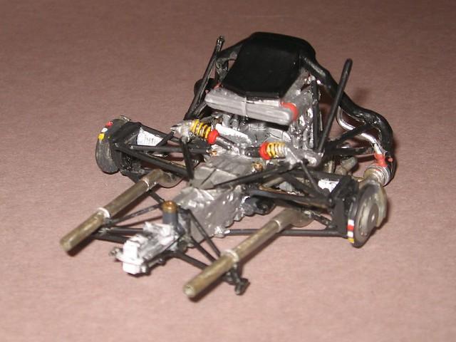 tamiya porsche 1996 911 gt1 donor engine transmission suspension rebuid a set on flickr. Black Bedroom Furniture Sets. Home Design Ideas
