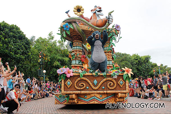 The Jungle Book car