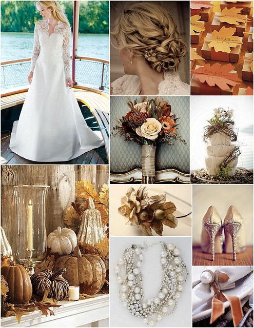 Fall harvest wedding inspiration