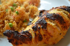 Grilled Turmeric Chicken