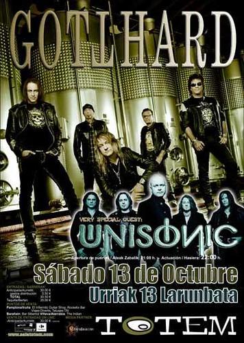 Gotthard + Unisonic 2012