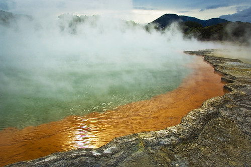 hot waters, Rotorua NZ
