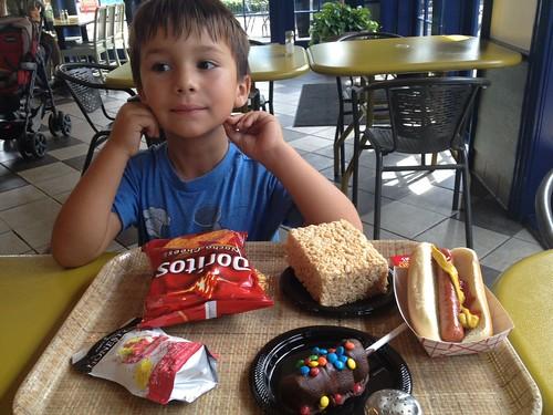 Finn's lunch