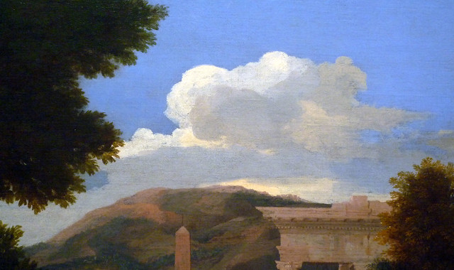 landscape with st john on patmos Nicolas poussin, landscape with saint john on patmos, 1640, oil on canvas,  1003 x 1364 cm (39-1/2 x 53-5/8 inches) (art institute of chicago).