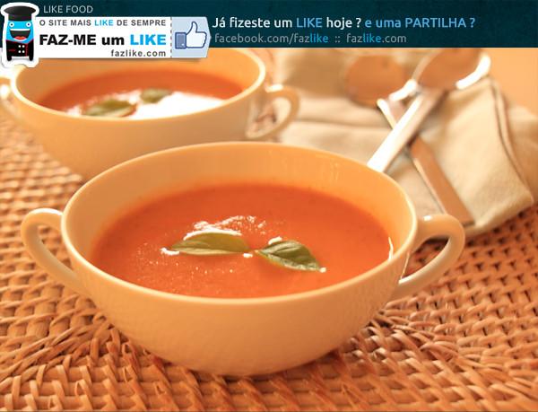 Sopa de Courgete e Tomate