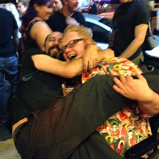 Harry Knowles Being Assaulted by Valentín Javier Diment