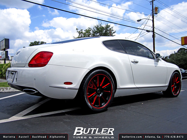 Bentley GT with 20in Savini BM3 Wheels