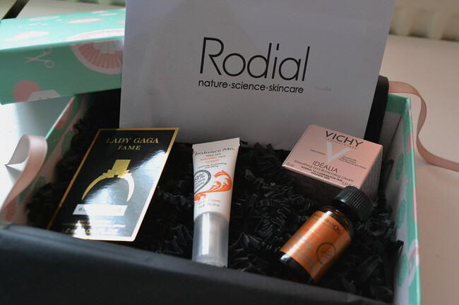 daisybutter - UK Style and Fashion Blog: glossybox, september 2012, review, maggie li