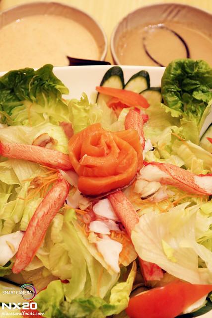 miraku salmon salad