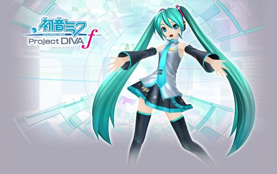 Hatsune Miku Project Diva F é Anunciado para PlayStation3!