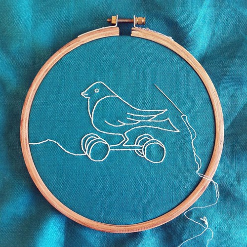 New embroidery almost finished