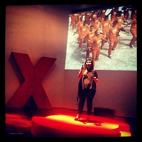 CFC Producer @acserrano on how it's arrongant to believe total control of #storyworld. #TEDxTransmedia #transmedia