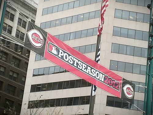 Reds 2012 postseason banner