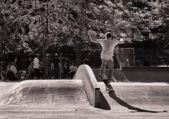 Skaters - Coleman Playground - Under the Manhattan Bridge