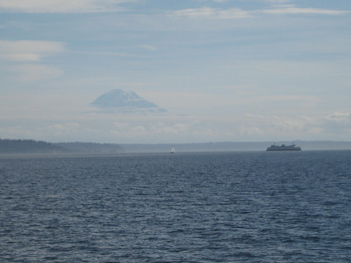 Rainier and Vashon Ferry