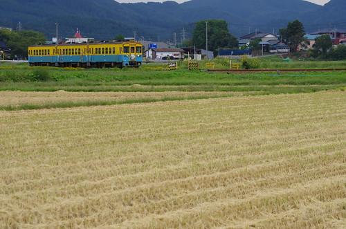 由利高原鉄道 YR1500形3両サヨナラ運転 #02