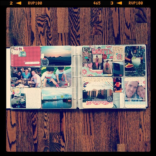#projectlife week 39 full spread insert right side