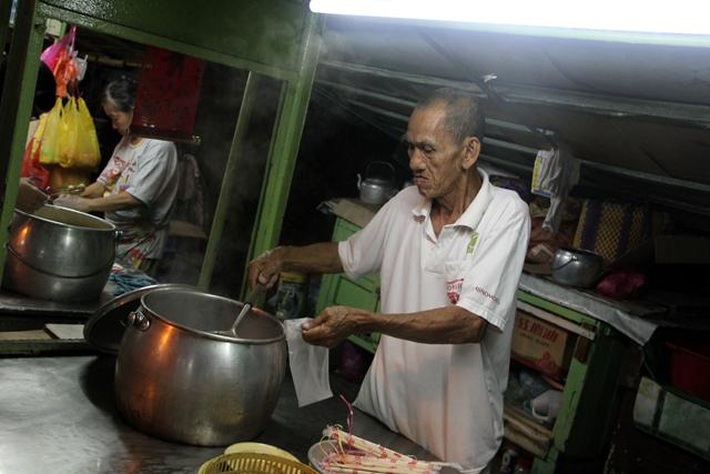 Pudu Hawker Street in Kuala Lumpur Malaysia