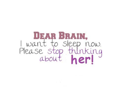 Kære hjerne...