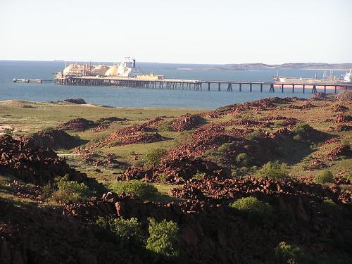 The Port on the Burrup Peninsula