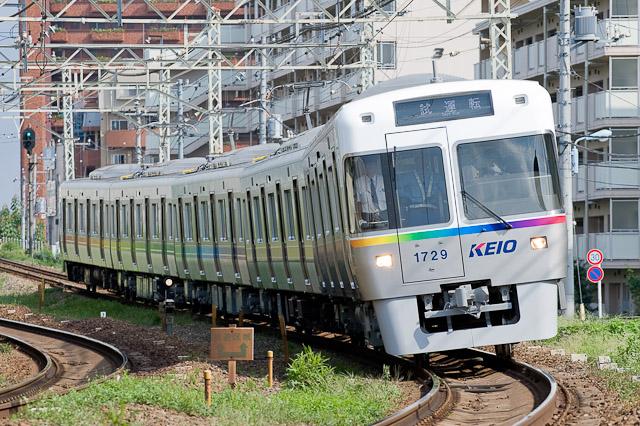 京王電鉄井の頭線1000系 特別ラッピング車両 1029F 出場試運転