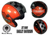 Aerografie Grosseto Harley Davidson 0564 Garage Casco Helmet custom painting