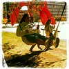 Photo Tuesday! Swing by Calder Plaza and make some music on the Swing Set Drum Kit! Happy ArtPrize